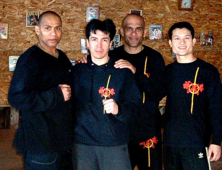 Tylus Quan Do junto a Dai Sifu Randy Williams y Sifu Wayne