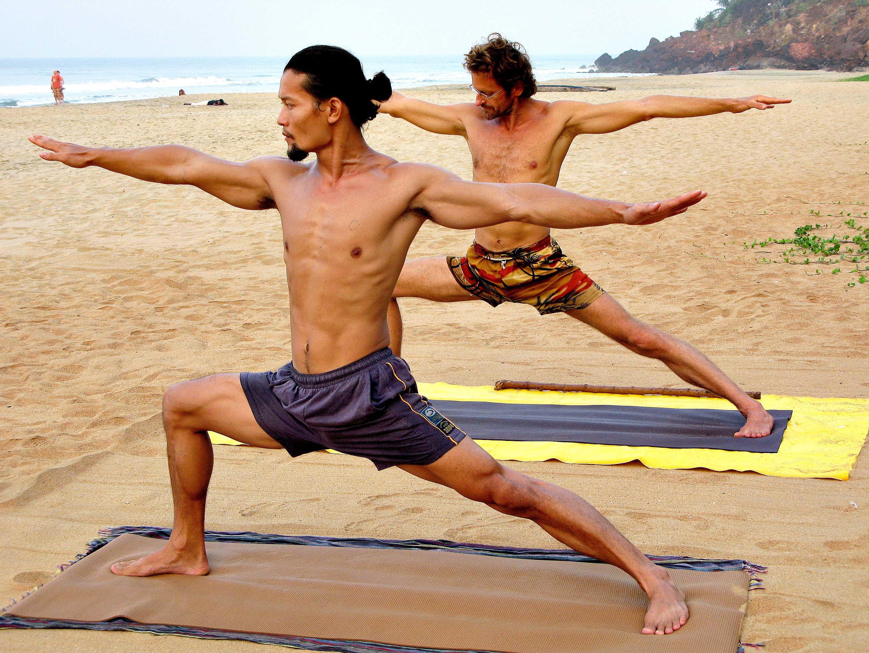 Tylus Quan Do y su mestro yogui Zoli